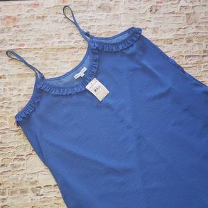Slip Dress Blue Large NWT